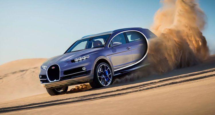 Será que a febre dos SUV's também já chegou à Bugatti?