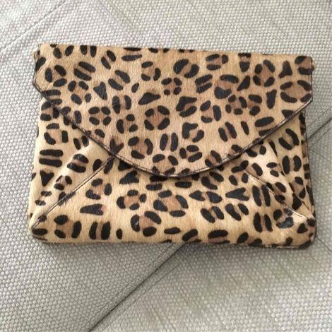 chaussures de séparation 6e71f d5b98 Sac pochette en cuir LA REDOUTE Leopard   Une souris.... in ...