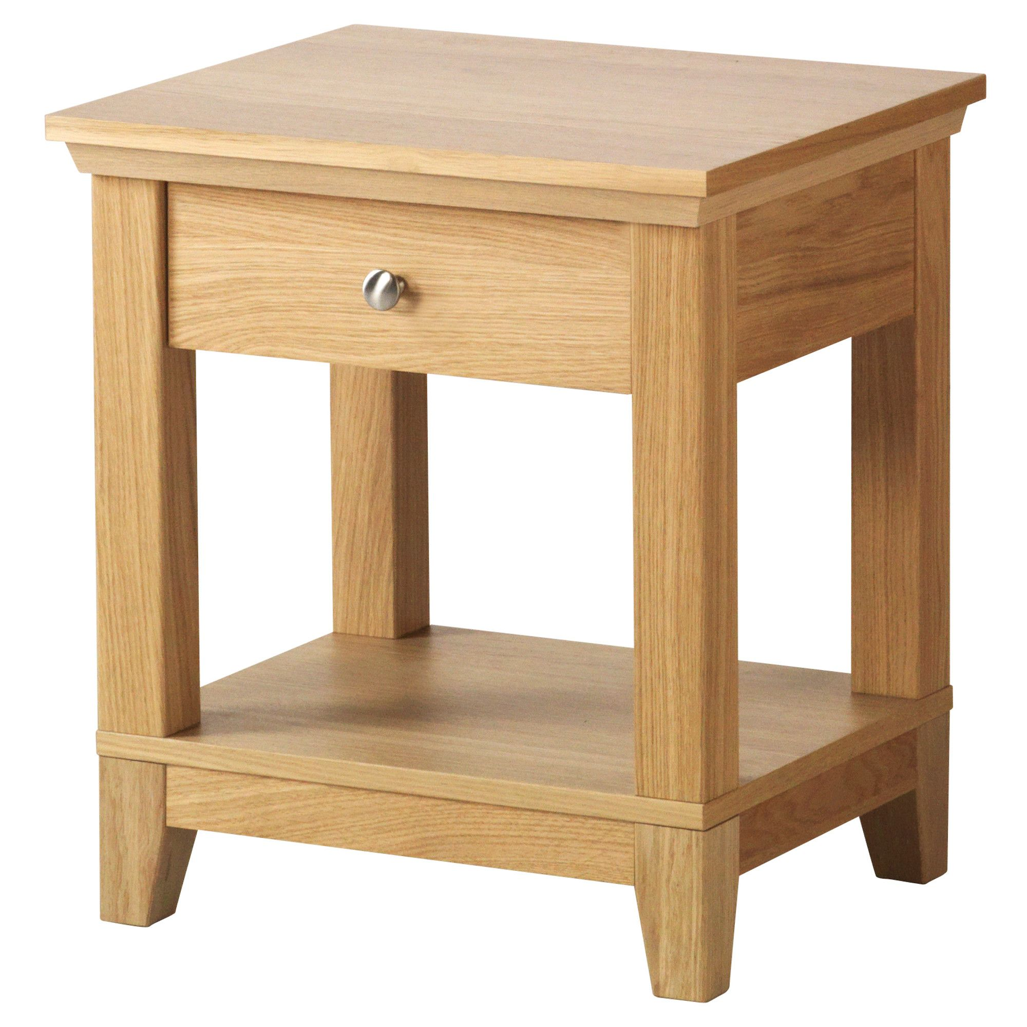Bedroom table designs - Furniture Herefoss Bedside Table Oak Drawers Modern Furniture