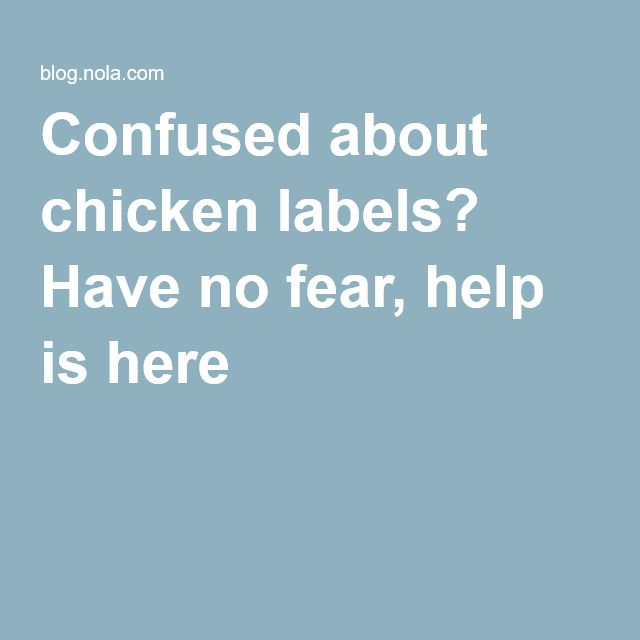 Confused about chicken labels? Have no fear, help is here