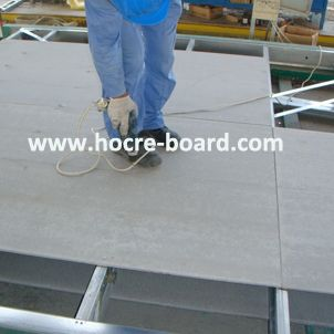 Fiber Cement Board Magnesium Oxide Board For Light Steel Frame Modular House