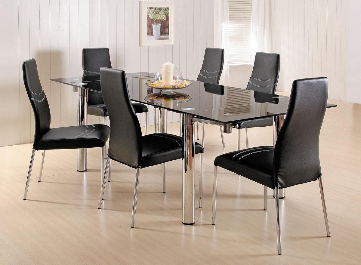 Luxury Glass Top Dining Table  Httppatiobeachclubluxury Extraordinary Glass Dining Room Set Decorating Inspiration