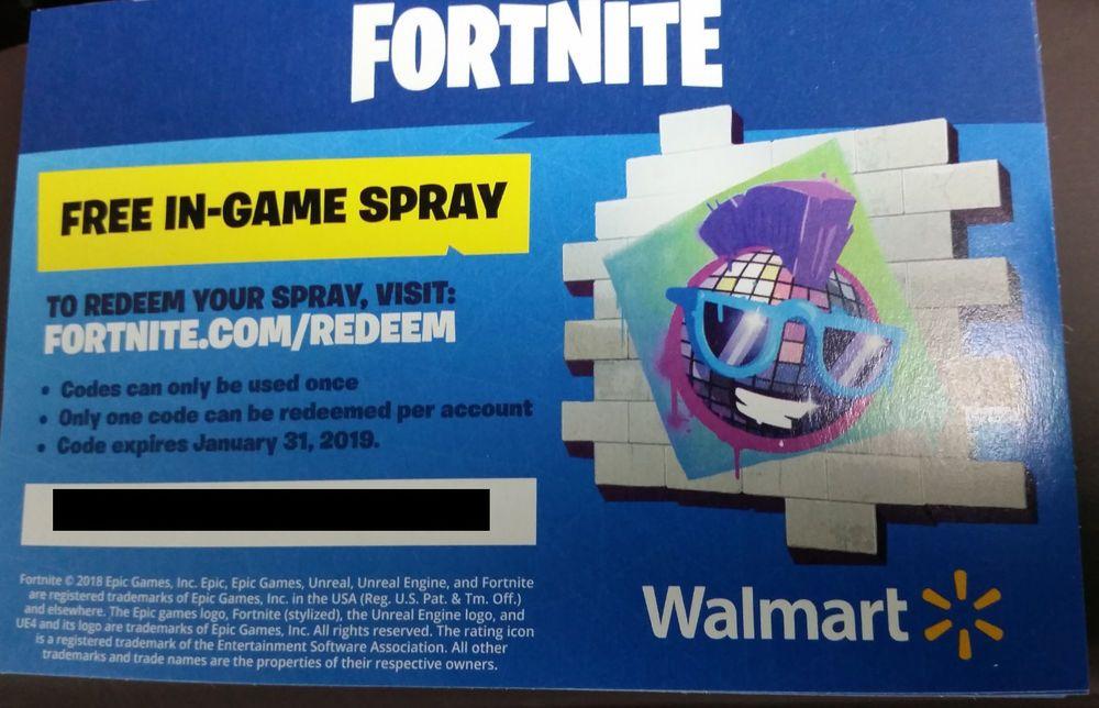 Fortnite Free Walmart Codes Fortnite Free Epic Games