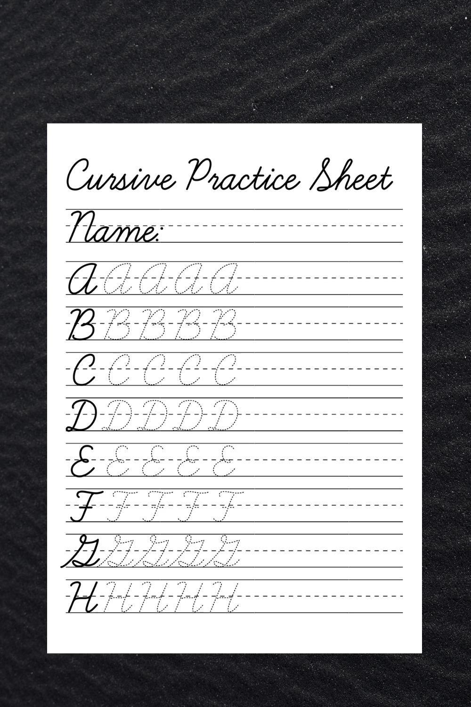 Cursive Tracing Worksheets Practice Words Handwriting Etsy Video Video In 2021 Cursive Writing Worksheets Cursive Practice Cursive Worksheets [ 1500 x 1000 Pixel ]