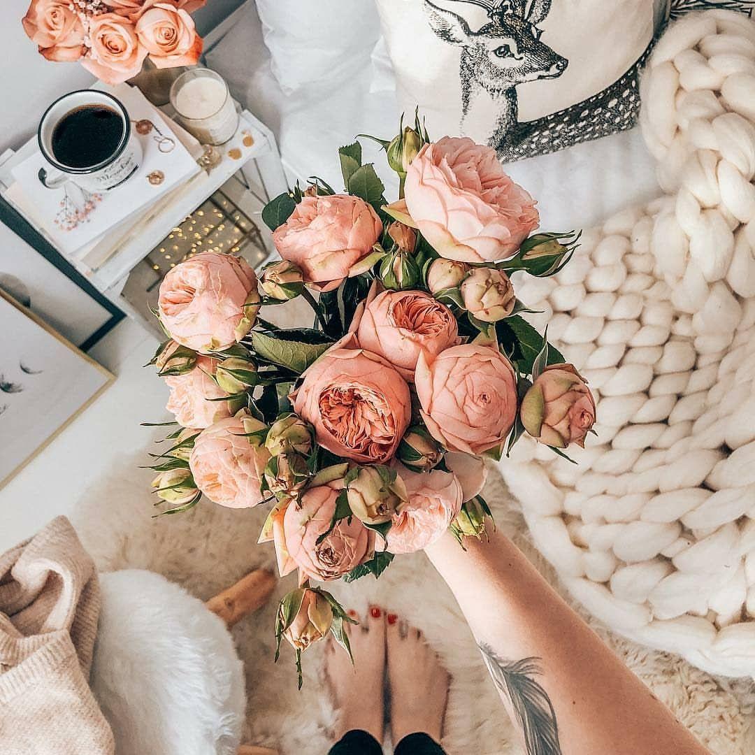 хештеги для фото цветов
