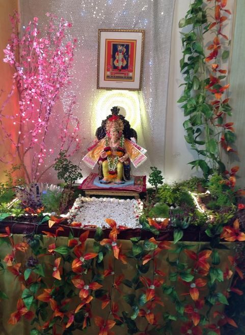Ganesh Chaturthi Decoration Ideas | anuradha | Pinterest ...