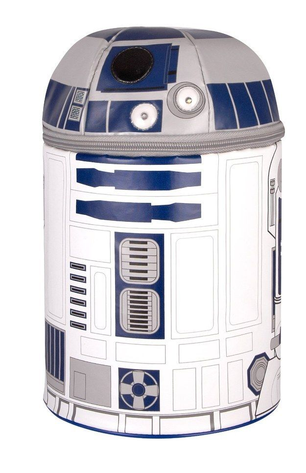 Space Movie Star Wars R2-D2 Astromech Droid Robot Stainless Steel Necklace