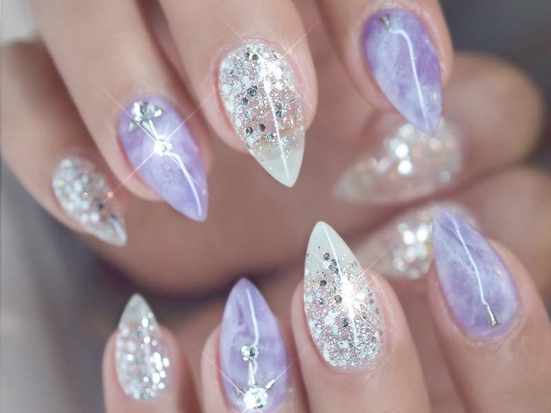 27 Best Designs For Short Stiletto Nails That Will Catch Your Eye