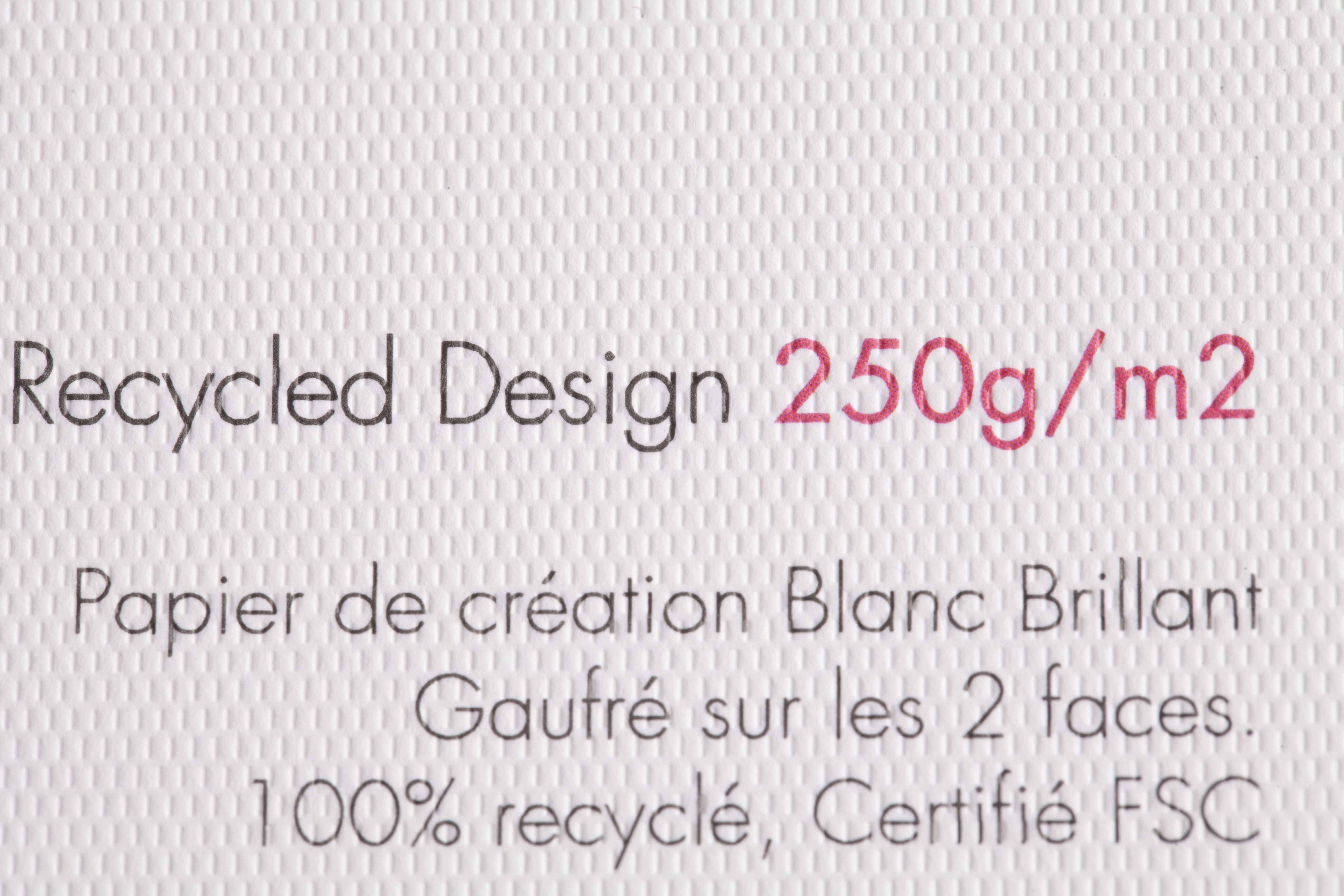 Papier - Rives Recycled Design 250g