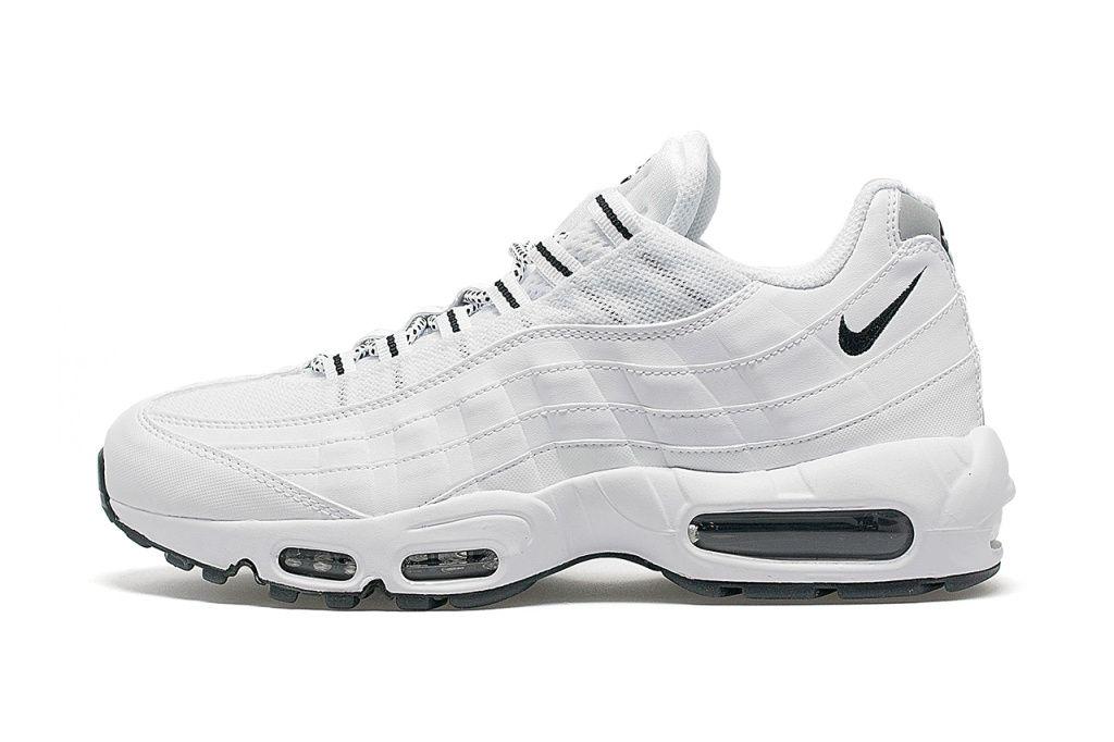 95 Air Max Shoes White