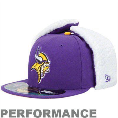 Minnesota Vikings 59FIFTY NFL Dog Ear Fitted Cap