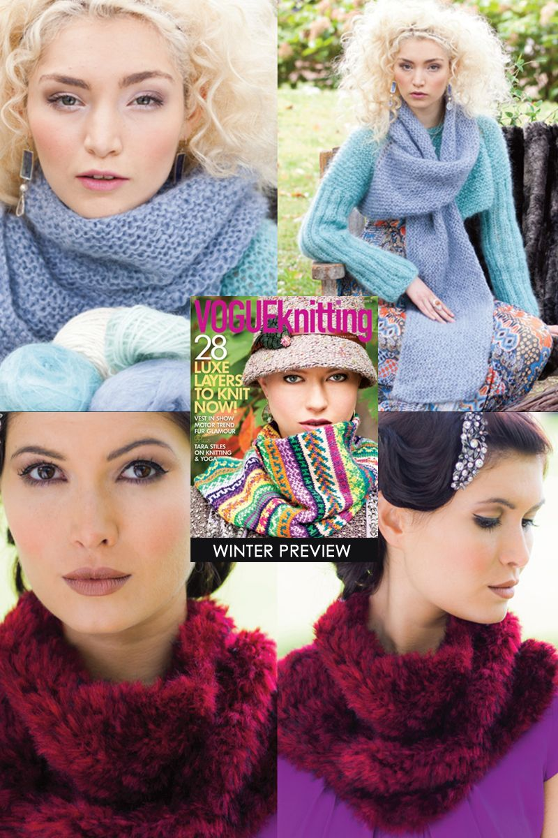 Vogue Knitting Winter 2013/14 | some of my favourites
