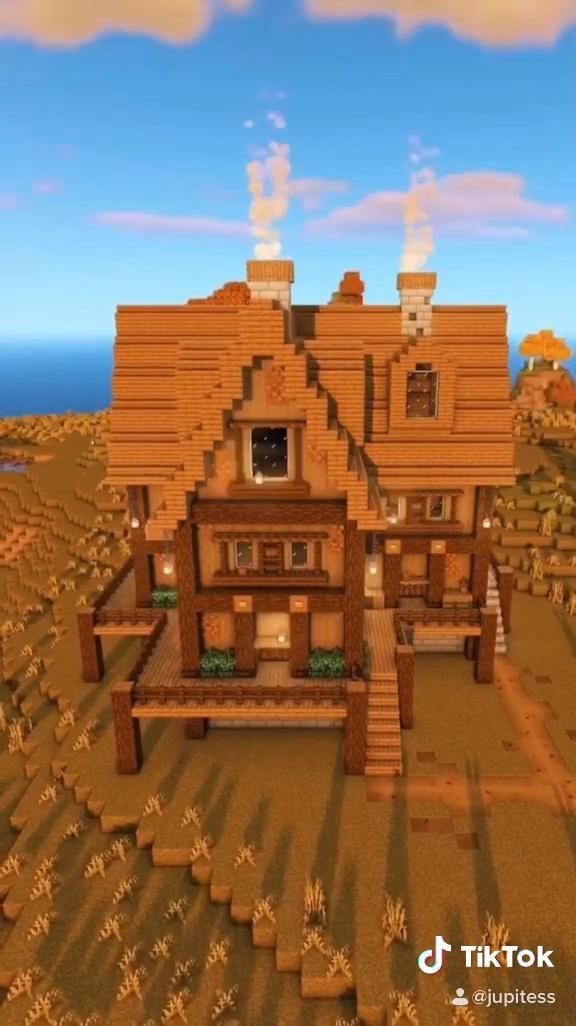 Minecraft Autumn Survival Base | Jupitess on Youtu