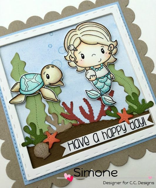 """** Stamps Queen **: ** ... """"under the sea"""" ... **"""