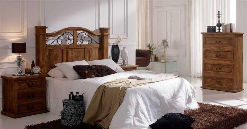 Decorar Dormitorio Rustico Matrimonio : Dormitorios rusticos decorar tu casa es facilisimo.com altos de