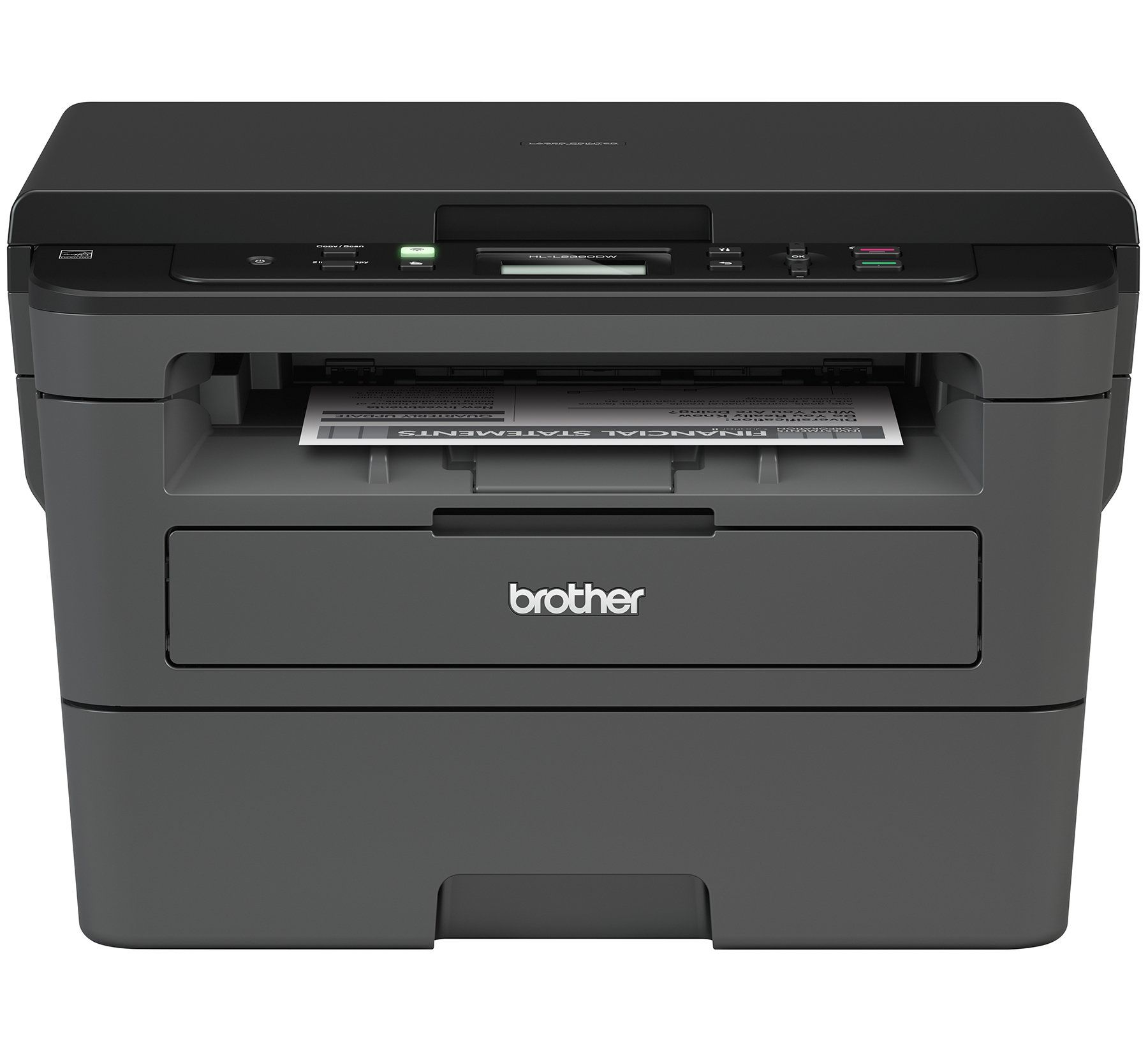 Brother Compact Monochrome Laser Printer Hll2390dw Convenient Flatbed Copy And Scan Wireless Printing Duplex Twosided Print Laser Printer Printer Best Printers