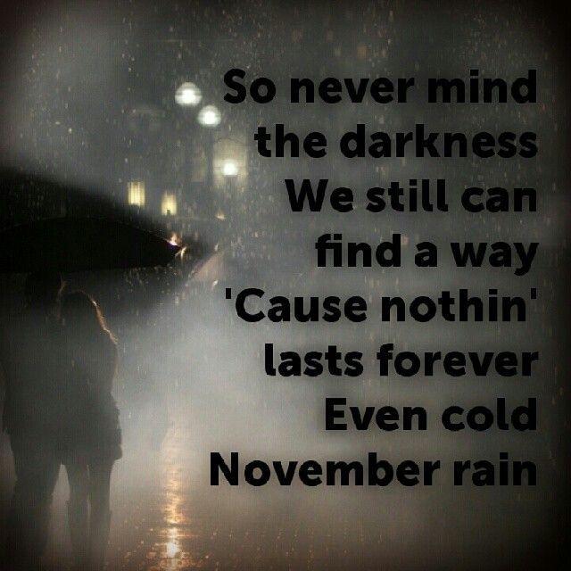 Guns N' Roses - November Rain (Chords)