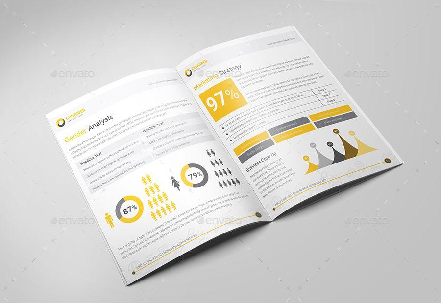 A4 Content Marketing Brochure Marketing Brochure Brochure