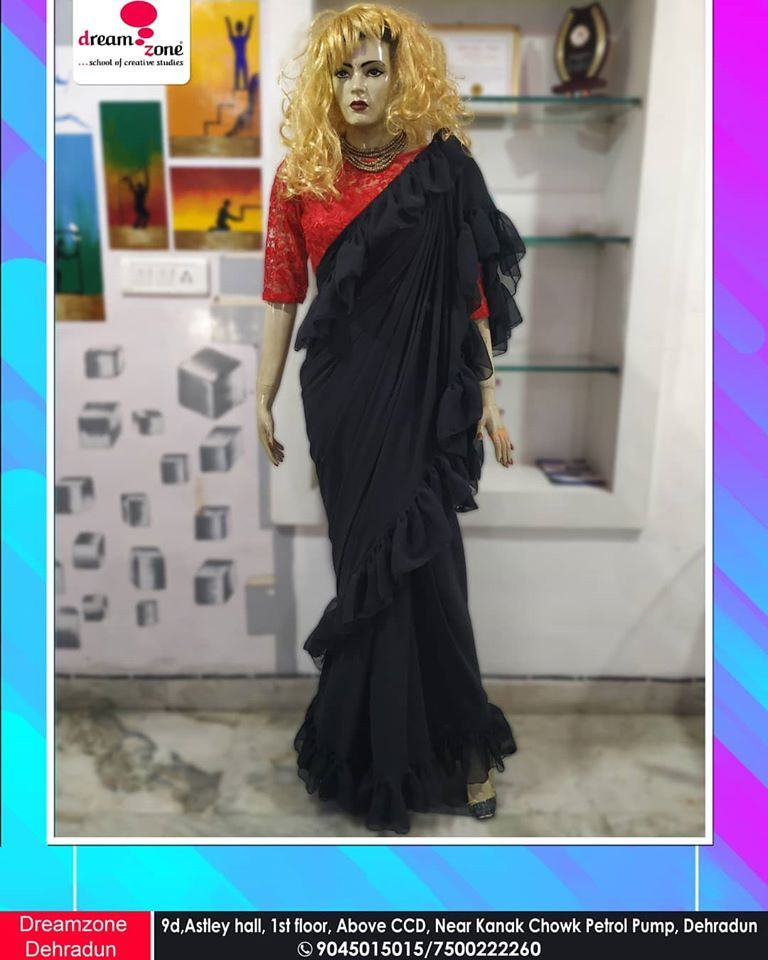 Draping Is An Important Process As It Helps Fashion Designers To Experiment With Fabric O In 2020 Fashion Designing Course Fashion Design Fashion Designing Institute