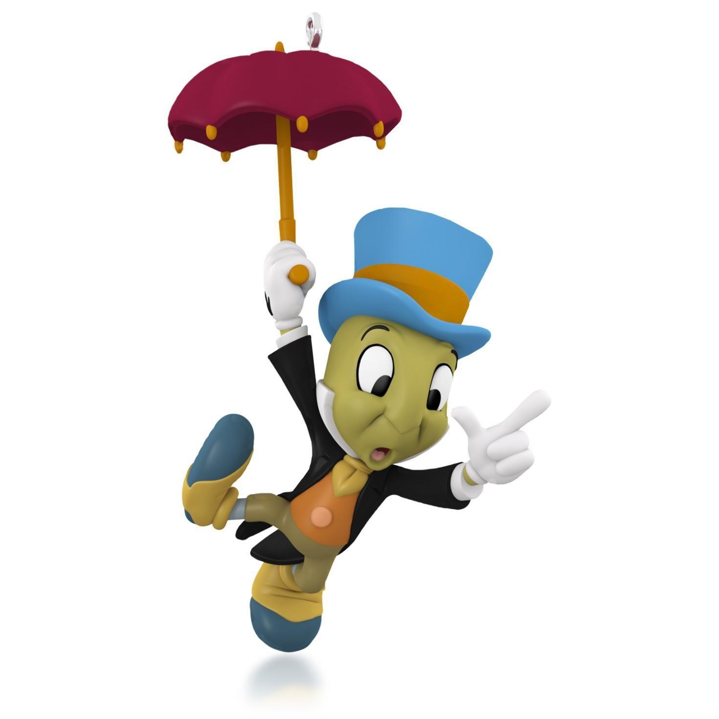 Disney Pinocchio Jiminy Cricket Ornament | Dear Santa... | Pinterest ...