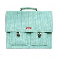 Light Blue/Green Satchel by Bakker Made With Love
