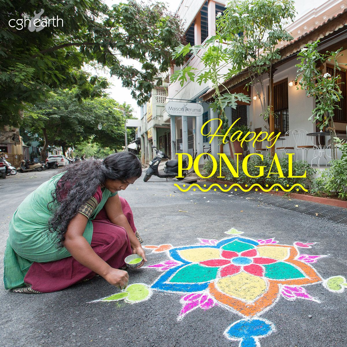 CGH Earth Family Wishes Yours A Happy Pongal.