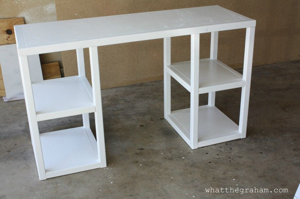Ana White Parsons Tower Desk Diy With Images Home Diy Diy Furniture Diy Home Improvement