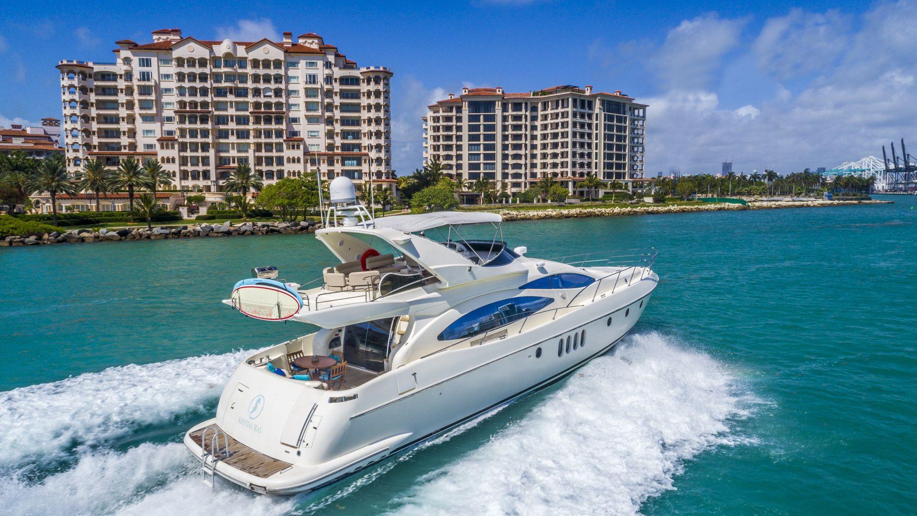 70 azimut flybridge boats for rent rockon recreation