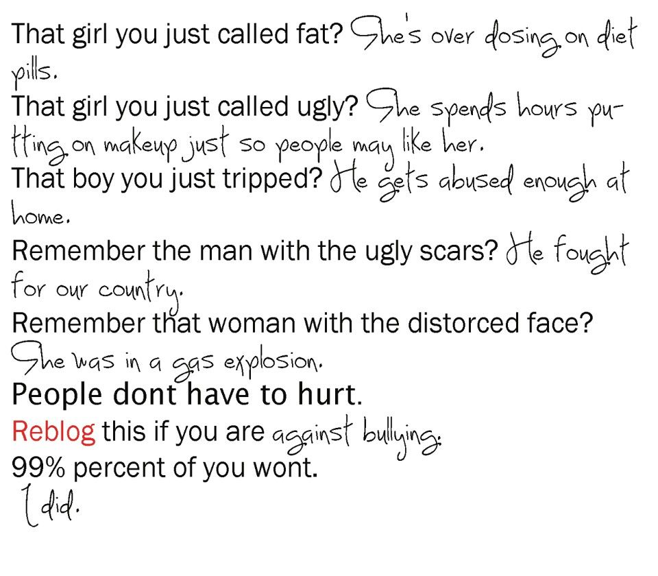 Short Bullying Quotes: Stop Bullying