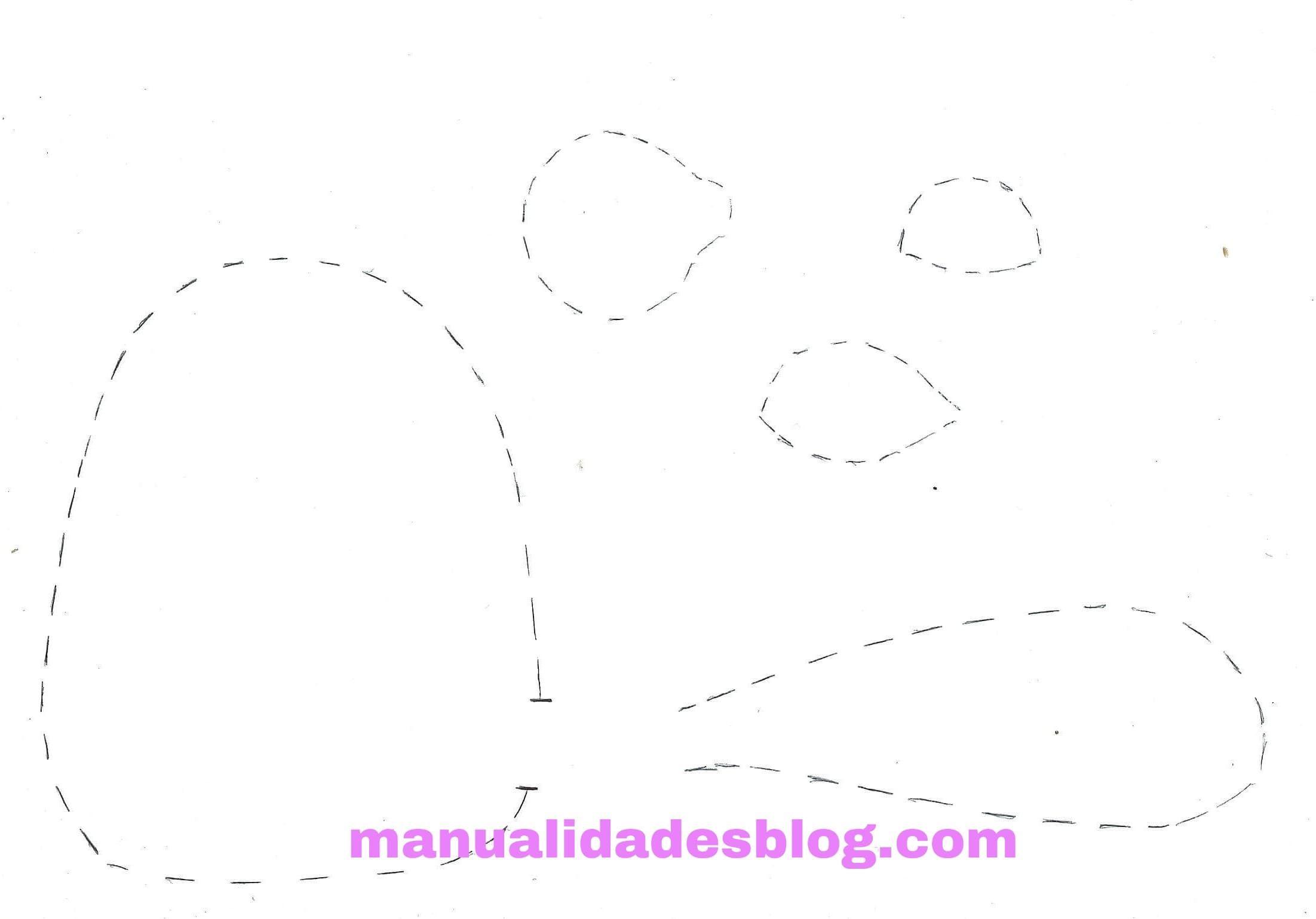 Gato de tela - Manualidades   Patrones-moldes   Pinterest   Gatos de ...