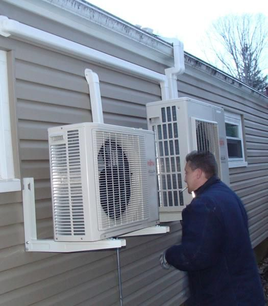 Ductless Heating And Cooling System Water Heating Systems Solar