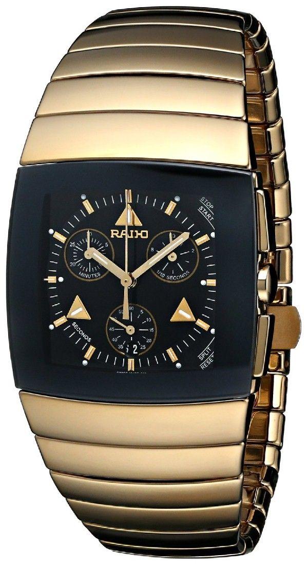c7bb22ddda3 Gold watches for men Rado
