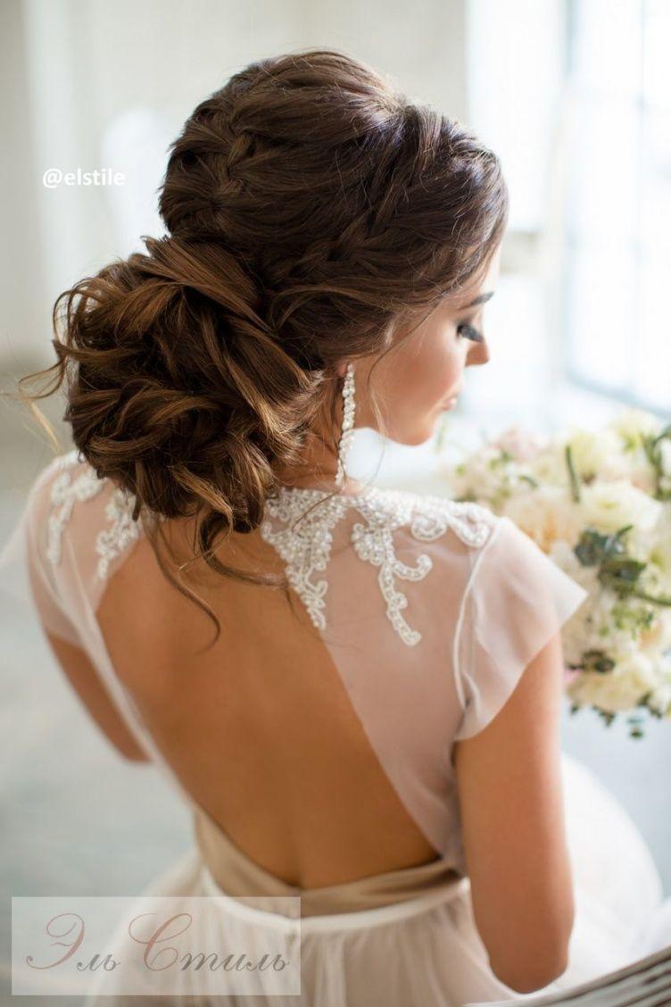40 Fryzur ślubnych W Stylu Glamour Warkocze Szczęście I ślubny