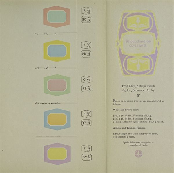 An excerpt from the 1921 book, A Grammar of Color - Rhododendron ...