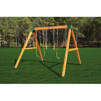 Gorilla Playsets Congo Free Standing Swing Station Or Along These