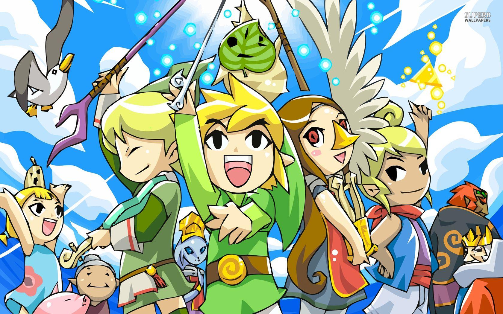 The Legend Of Zelda The Wind Waker Wallpaper The Legend Of Heroes Legend Of Zelda Wind Waker