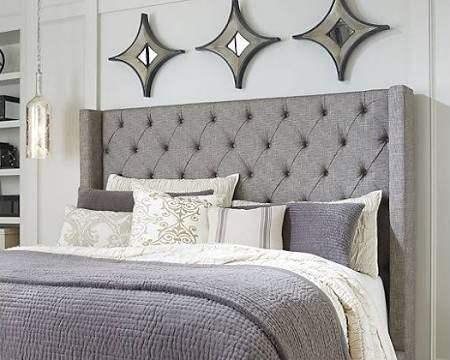 Sorinella King/California King Upholstered Headboard by Ashley ...