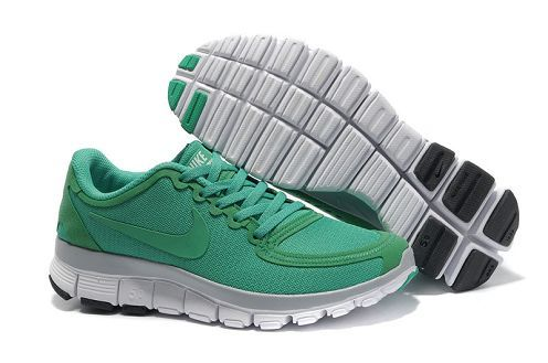 cheap for discount 61544 4d8f4 Womens Nike Free 5.0 V4 Running Shoe Lucky Green