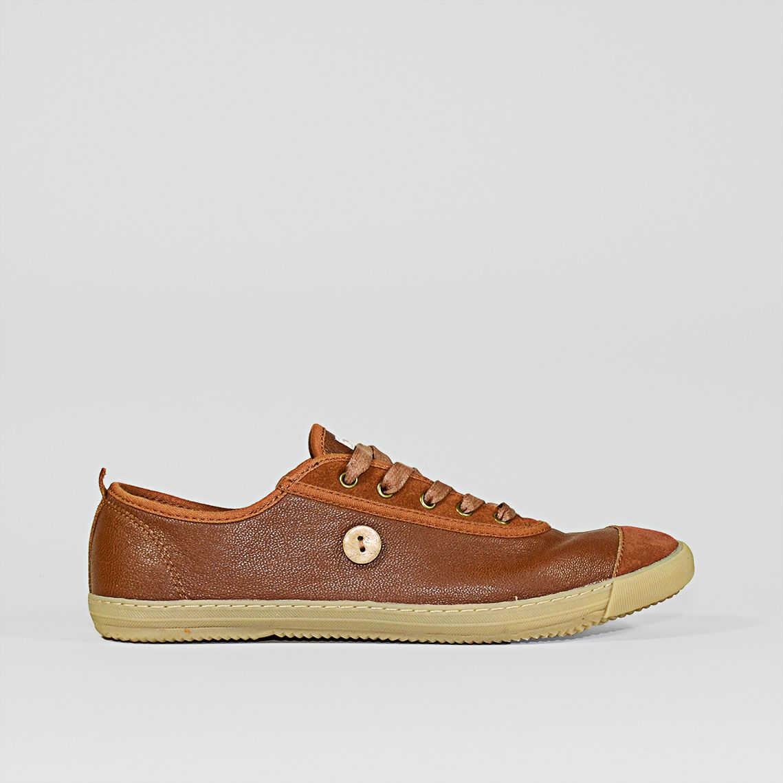 Sneakers FAGUO Linden Marron