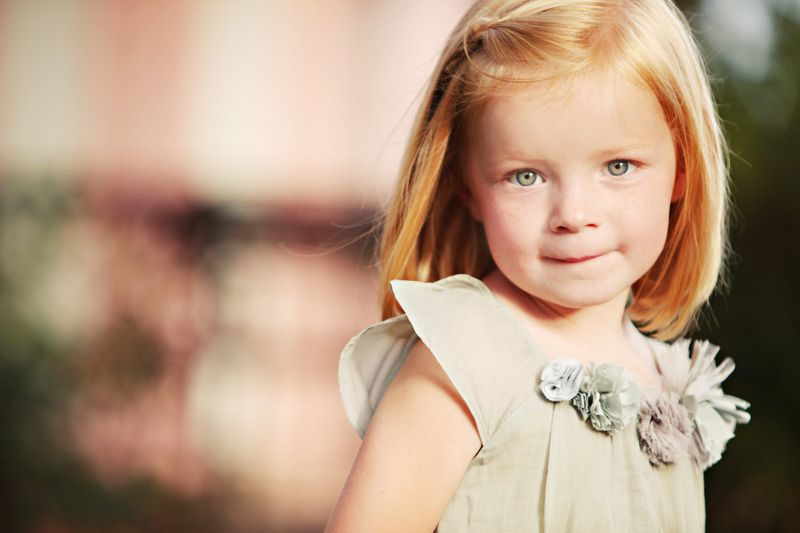 Red Hair And Blue Eyes On Little Girls Is Soo Cute Light