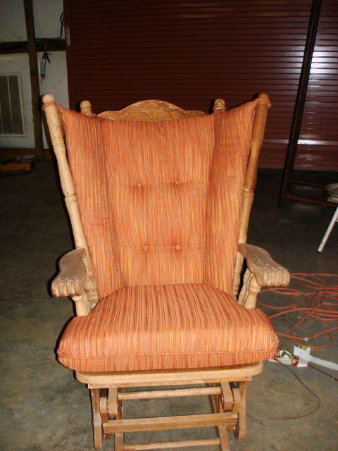 4 post Glider Rocker Replacment Cushions by cozycushions