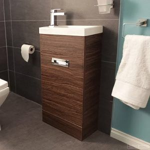 Aspen Walnut Bathroom Cabinet