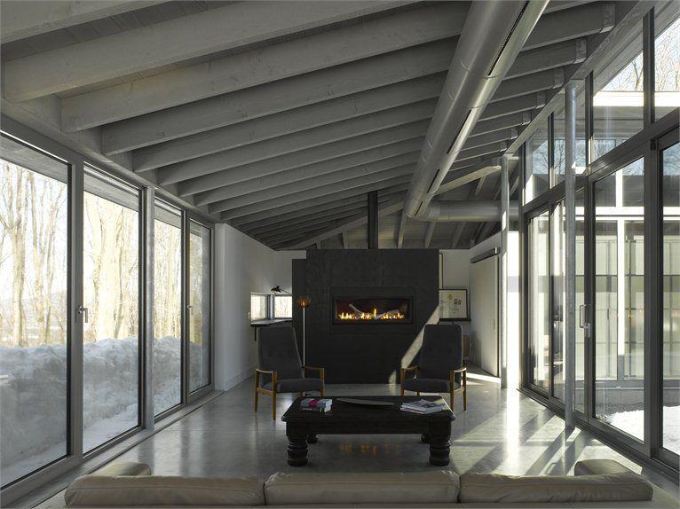 High Quality Gallery Of Bromont House / Paul Bernier Architecte   17
