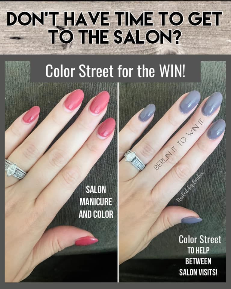 Need A Fill In 2020 Color Street Nails Manicure Prices Clear Acrylic Nails