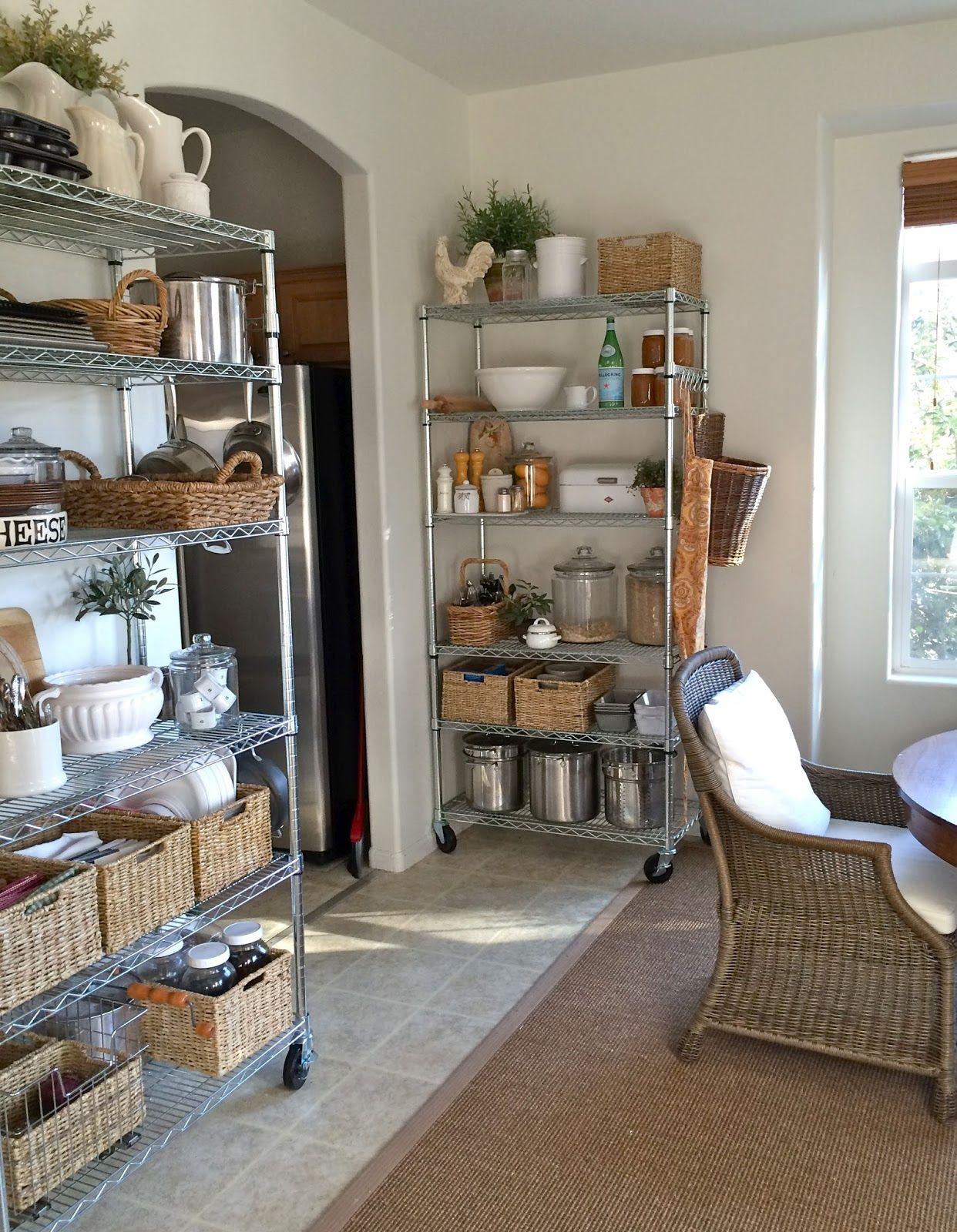 Homestead Revival No Pantry? No Problem. Kitchen rack