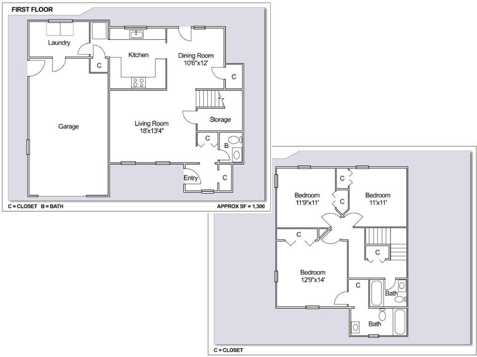 Ns newport melville neighborhood 3 bedroom duplex style for 11x11 room layout