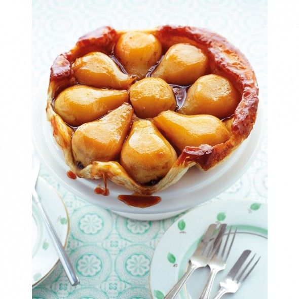 pear tatin recipe pear tarte tatin food recipes pear recipes pinterest