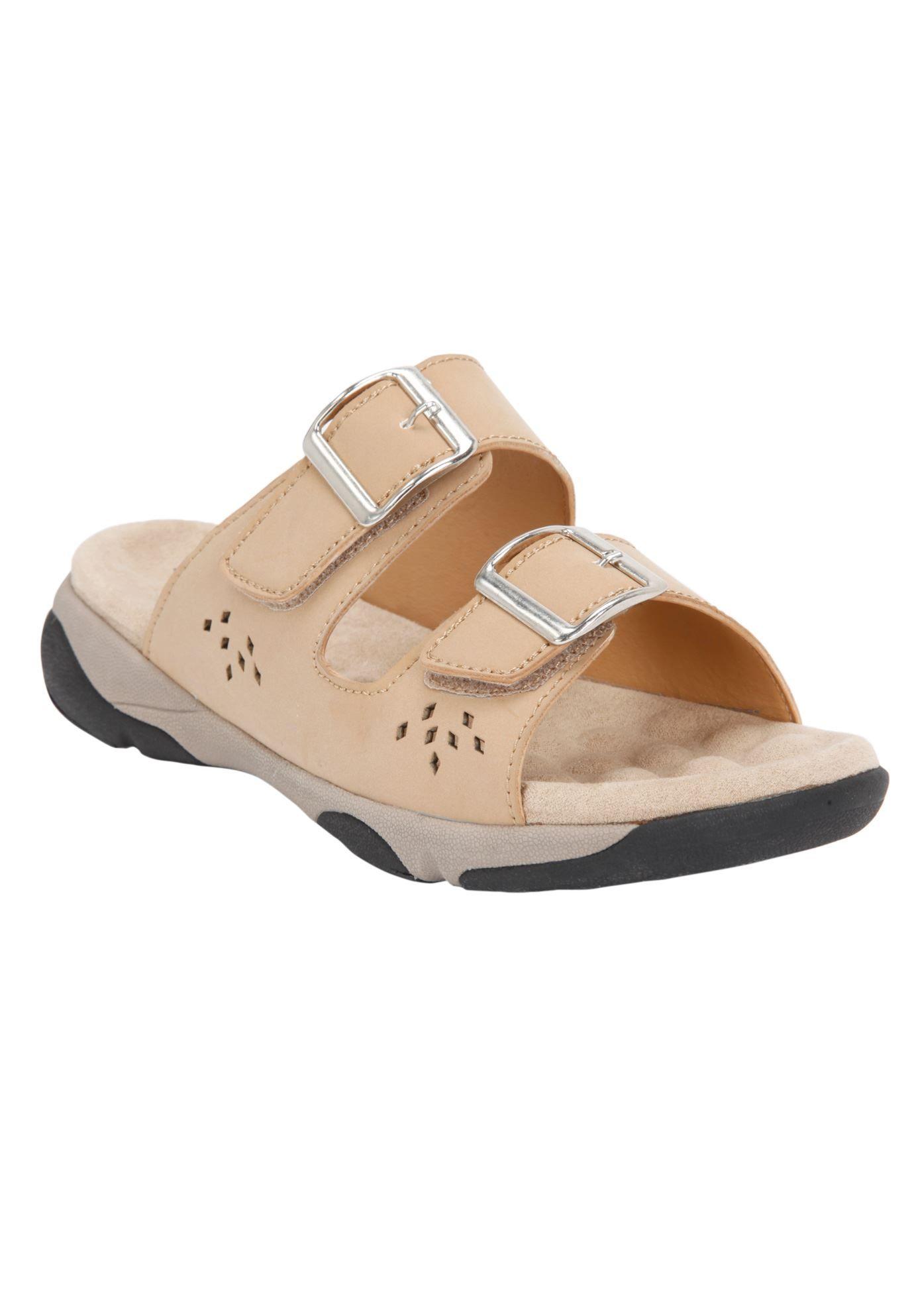 463138 Samira Trek Sandal by Comfortview Wide width