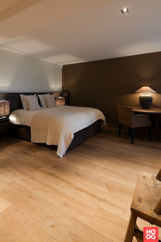 Luxe slaapkamer met tweepersoonsbed | slaapkamer design | bedroom ...