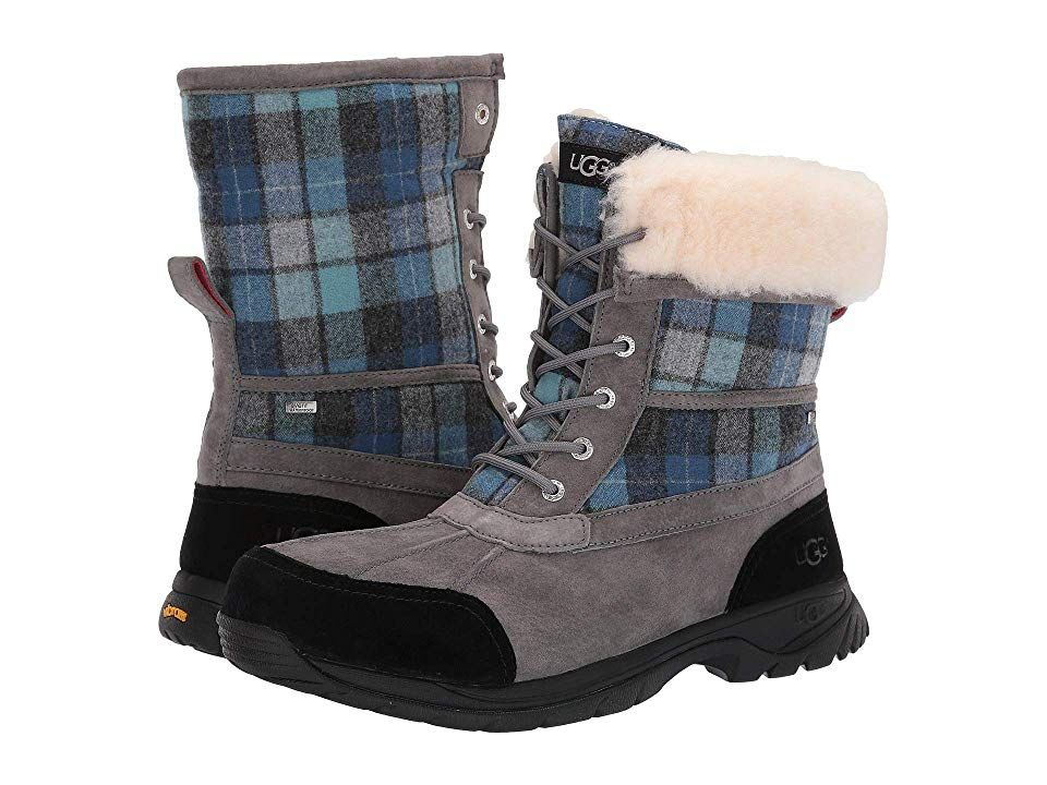 2cca3b25687 UGG Butte Men's Shoes Blue Surf Plaid | Products in 2019 | Uggs ...